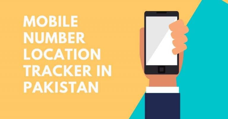 Mobile Number Location Tracker in Pakistan